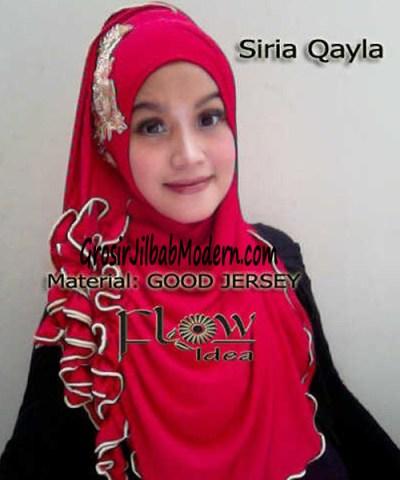 Jilbab Syria Qayla Merah