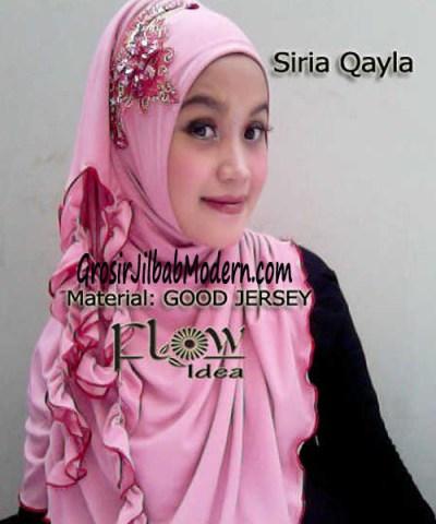 Jilbab Syria Qayla Pink