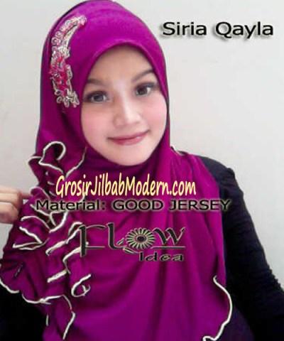 Jilbab Syria Qayla Ungu