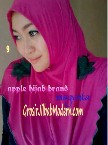 Jilbab Syria Simplity Rose No 9 Magenta