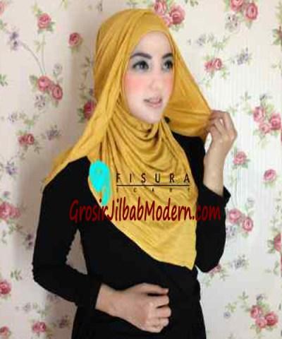 Jilbab Syria Dhella No 02 Kuning
