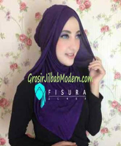 Jilbab Syria Dhella No 03 Ungu