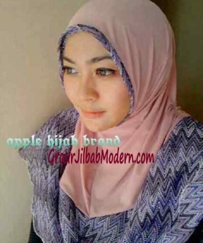 Jilbab Syria Malika No 2 Dusty Pink
