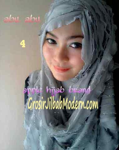 Jilbab Syrpash Ruffle Sparkling No 4 Abu