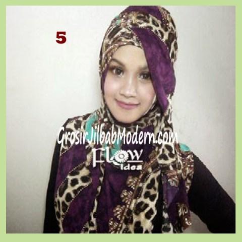 Jilbab Syria Leoqui No 5 Ungu