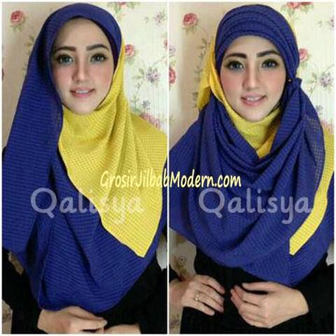 Jilbab Syria Safa Bisa Dimodel Seperti Ini