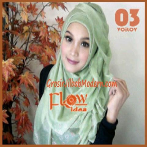Jilbab Syria Voilov by Flow No 03 Hojau Muda