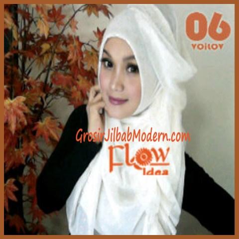 Jilbab Syria Voilov by Flow No 06 Broken White