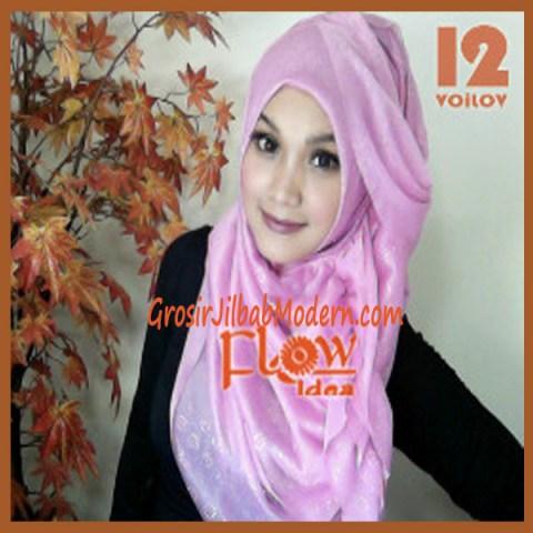 Jilbab Syria Voilov by Flow No 12 Pink