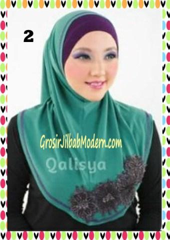 Jilbab Syria Ziyan No 2 Toska Tua