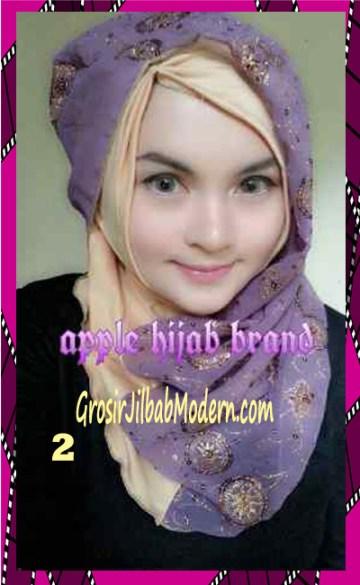 Jilbab Syrpash Instant Nicole Premium by Apple Hijab Brand No 2