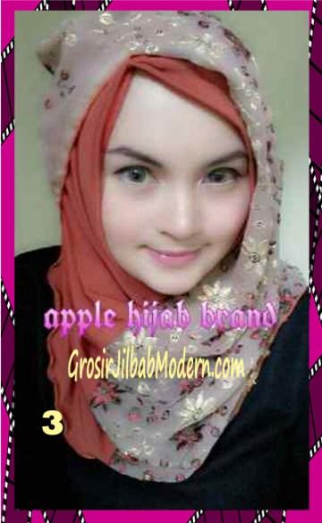 Jilbab Syrpash Instant Nicole Premium by Apple Hijab Brand No 3