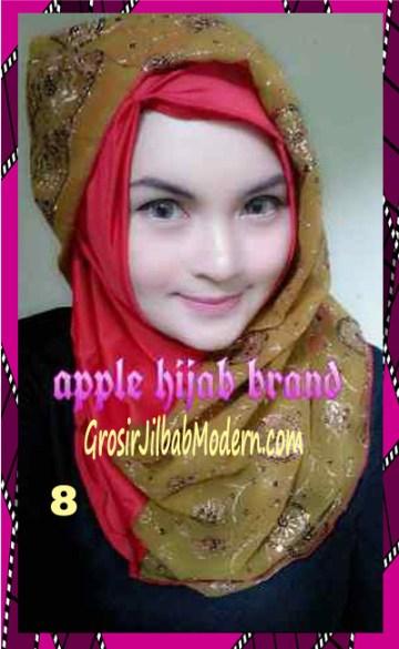 Jilbab Syrpash Instant Nicole Premium by Apple Hijab Brand No 8