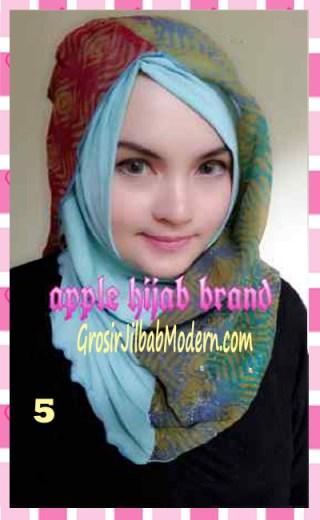 Jilbab Syrpash Instant Nicole by Apple Hijab Brand No 5