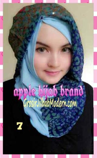 Jilbab Syrpash Instant Nicole by Apple Hijab Brand No 7