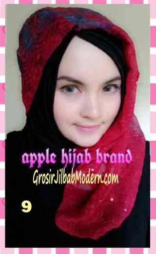 Jilbab Syrpash Instant;Nicole by Apple Hijab Brand No 9