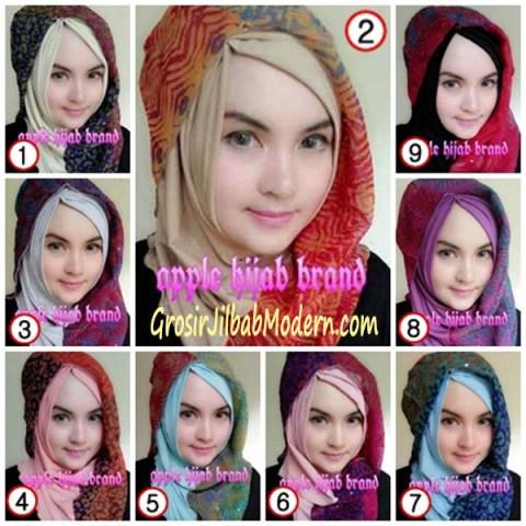 Jilbab Syrpash Instant Nicole by Apple Hijab Brand Series