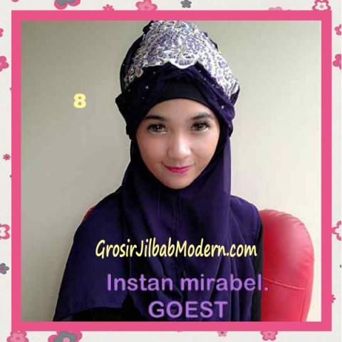 Jilbab Instant Mirabel Original by GOEST No 8 Ungu Tua