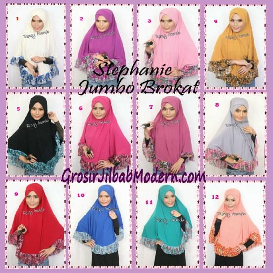Jilbab Jumbo Stephanie Series Baru