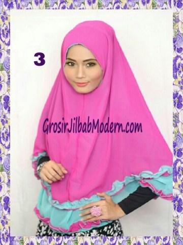 Jilbab Khimar Cantik Yasmine No 3