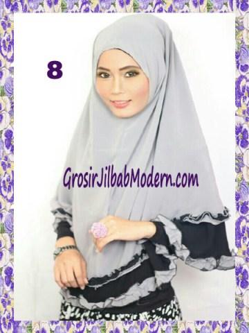 Jilbab Khimar Cantik Yasmine No 8