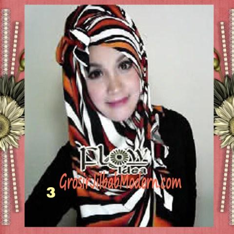 Jilbab Pashmina Syria Lollipita by Flow Idea No 3 Oren