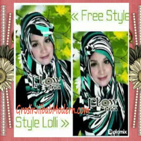 Jilbab Pashmina Syria Lollipita by Flow Idea Style Lolli
