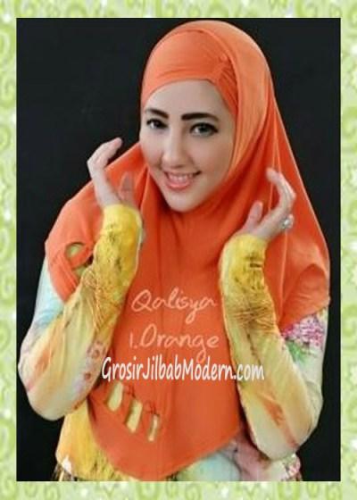 Jilbab Syria Modis Nuha Original By Qalisya No 1 Orange