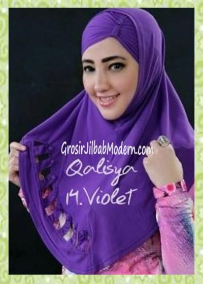 Jilbab Syria Modis Nuha Original By Qalisya No 14 Violet