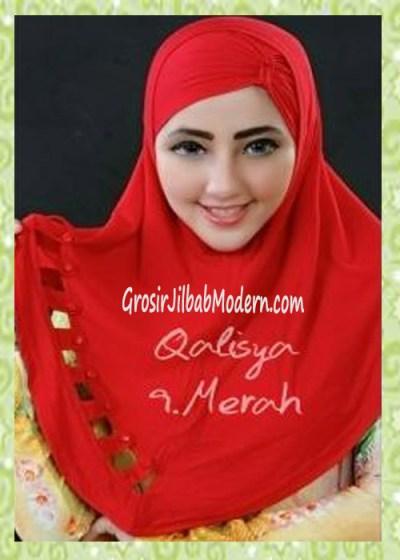 Jilbab Syria Modis Nuha Original By Qalisya No 9 Merah