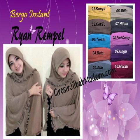 Jilbab Bergo Instant Ryan Rempel