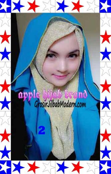 Jilbab Exclusive Jolie Gliter Seri 2 No 2
