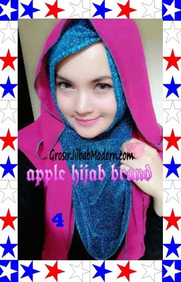 Jilbab Exclusive Jolie Gliter Seri 2 No 4
