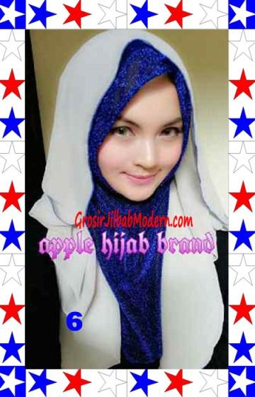 Jilbab Exclusive Jolie Gliter Seri 2 No 6