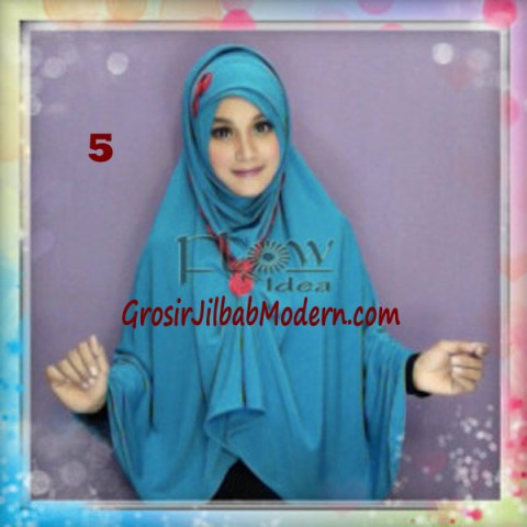 Jilbab Syria Jumbo Faizia Modis Original by FLOW Idea No 5 Tuskis