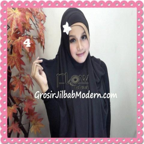Jilbab Syria Jumbo Syar'i Jasmine by FLOW Idea No 4 Hitam