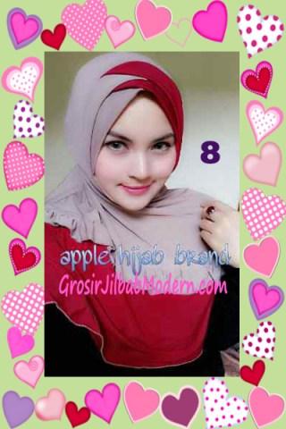 Jilbab Syria Khayra Stylish by Apple Hijab Brand No 8