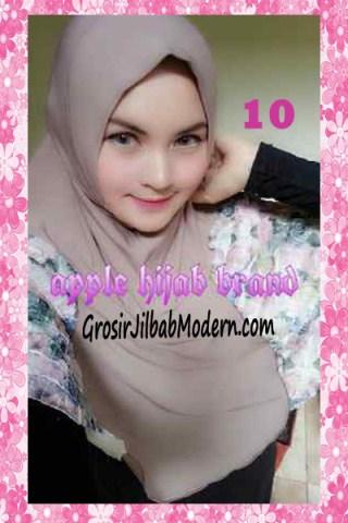 Jilbab Syria Kyle Frill Original by Apple Hijab Brand No 10