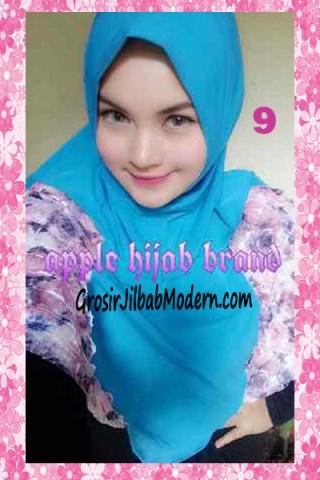 Jilbab Syria Kyle Frill Original by Apple Hijab Brand No 9