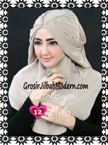 Jilbab Syria Mumtaz by Qalisya Modis dan Trendy No 12 Milo