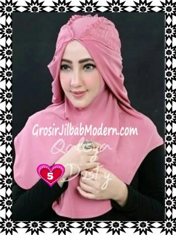 Jilbab Syria Mumtaz by Qalisya Modis dan Trendy No 5 Dusty