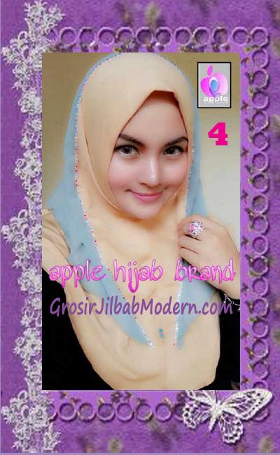 Jilbab Syria Cantik Zhafrina Diamond Original by Apple Hijab Brand No 4 Coksu