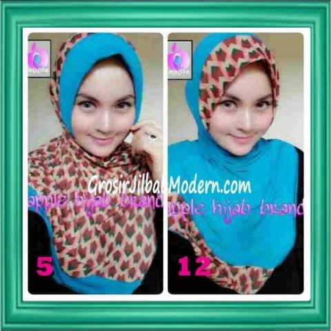 Jilbab Syria Daily Modis by Apple Hijab Brand No 5 & 12