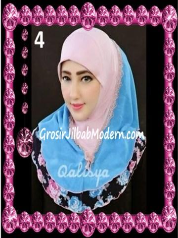 Jilbab Syria Kombinasi Cantik Ahza by Qalisya No 4