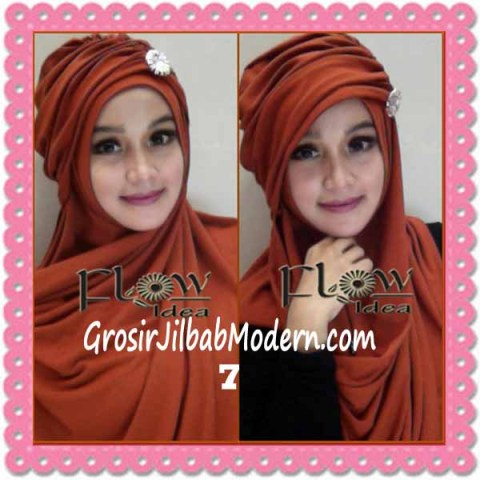 Jilbab Syria Topi Turban Almonda Trendy by FLOW Idea No 7 Bata