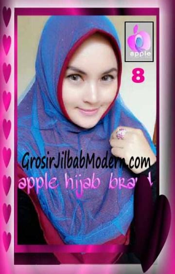 Jilbab Syria Unik Vienna Tutu by Apple Hijab Brand No 8 Marun