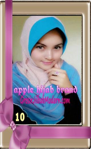 Jilbab Tutu Goldee Modis by Apple Hijab Brand No 10
