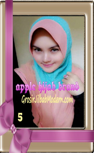 Jilbab Tutu Goldee Modis by Apple Hijab Brand No 5