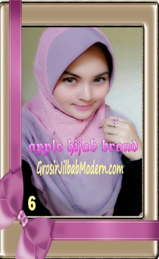 Jilbab Tutu Goldee Modis by Apple Hijab Brand No 6