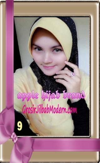 Jilbab Tutu Goldee Modis by Apple Hijab Brand No 9